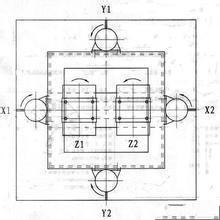 三维振动平台结构设计图
